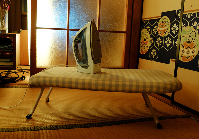 table de repassage japonaise