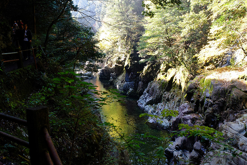 gorges de Sandankyo Hiroshima