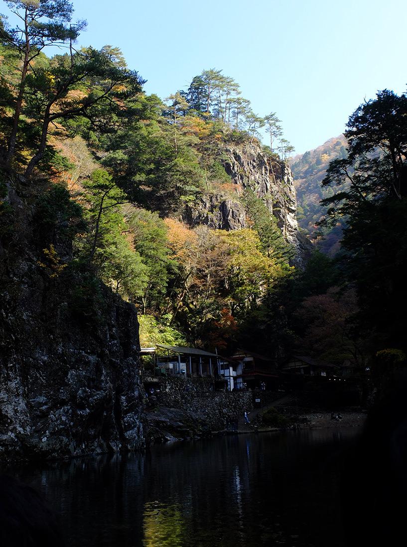 Kurobuchi, les abysses noires, Sandankyo, Japon