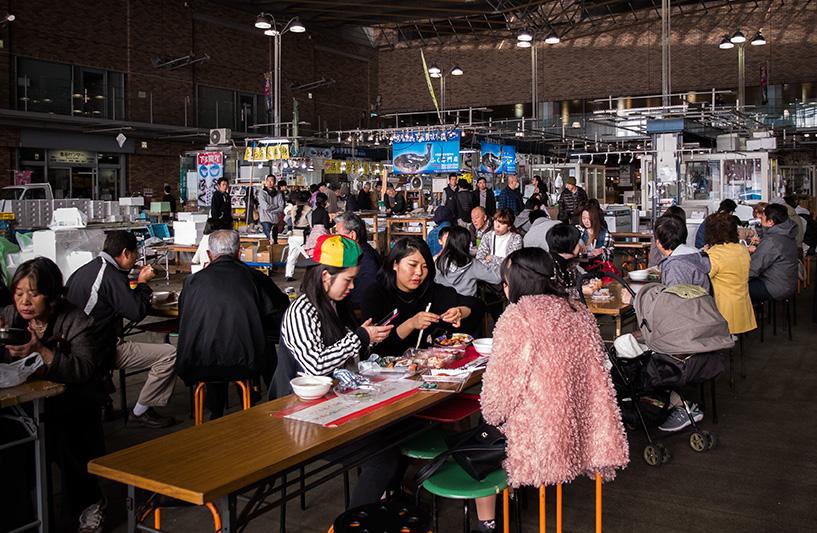 marché de Karato Shimonoseki