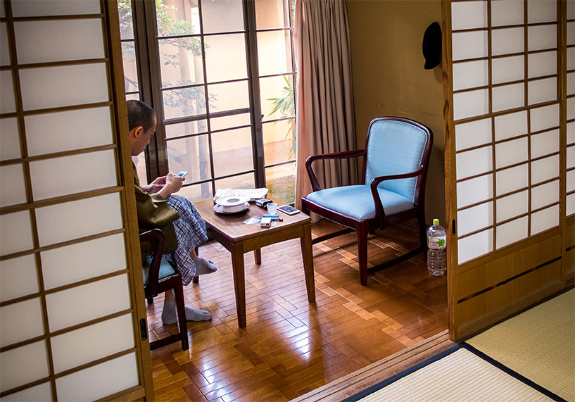 chambre de ryokan Yudaonsen