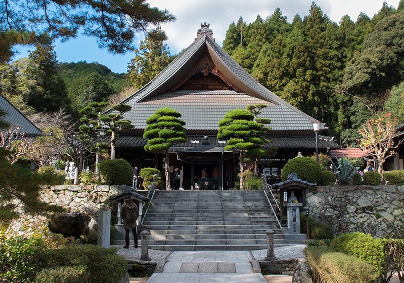Le pavillon principal du temple Ruriko-ji, Yamaguchi