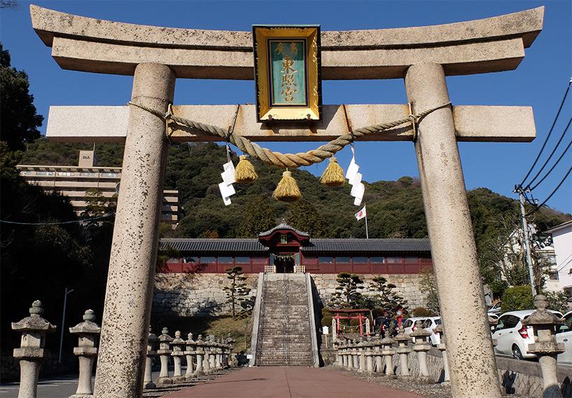 Torii d'entrée du sanctuaire Tōshōgū, Hiroshima
