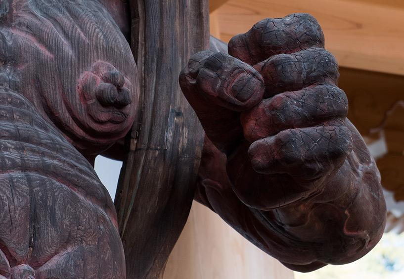 main et statue nio temple myojoin