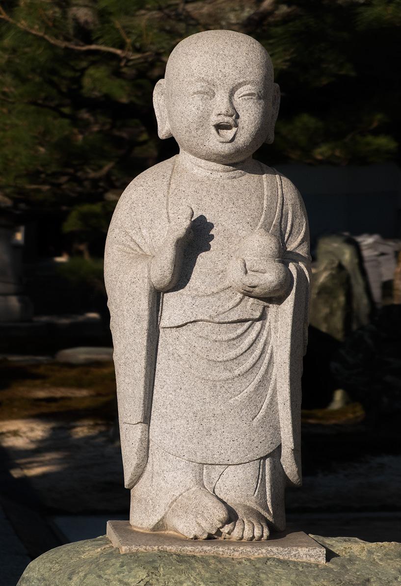 statue bouddhiste temple Myojoin