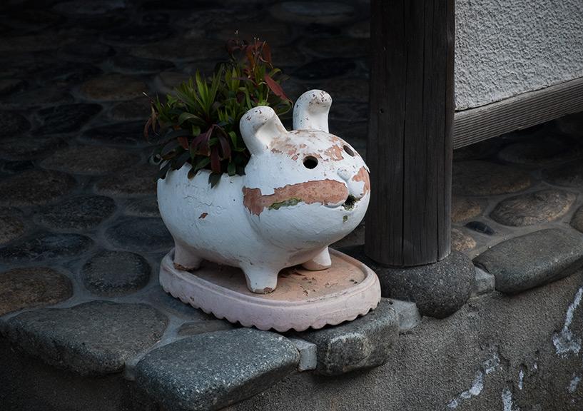 japon pot de fleur kawaii