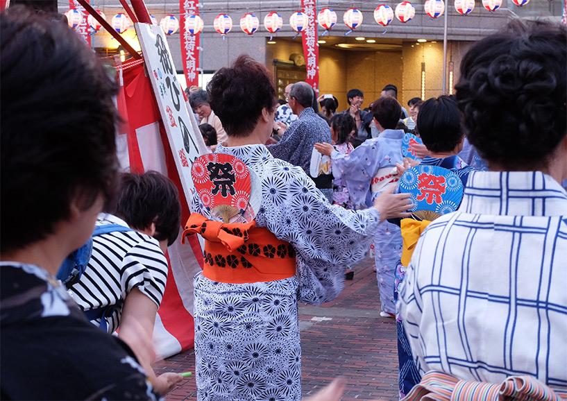 Bon-odori, Tokasan Matsuri, Hiroshima