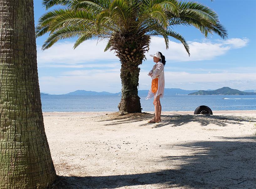 Palmier, Sun Beach, Etajima