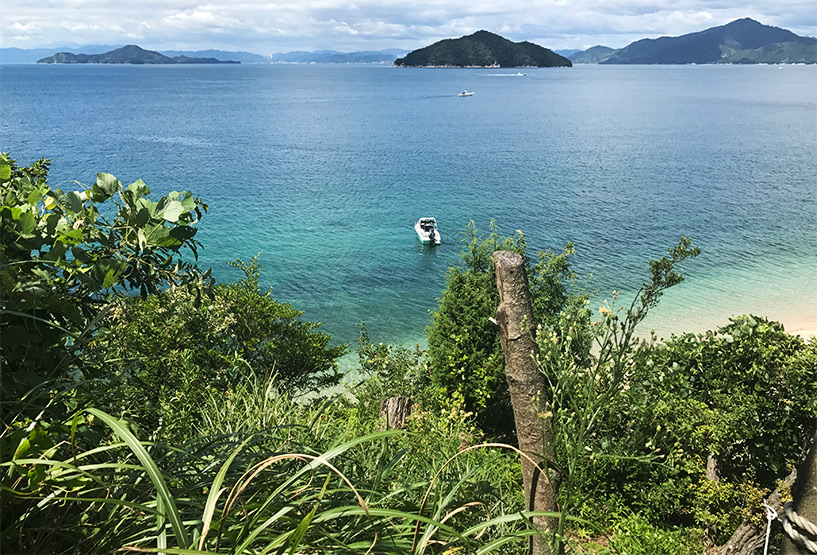 Nomishima, Etajima, vue sur les îles de de la mer de Seto, prefecture d'Hiroshima