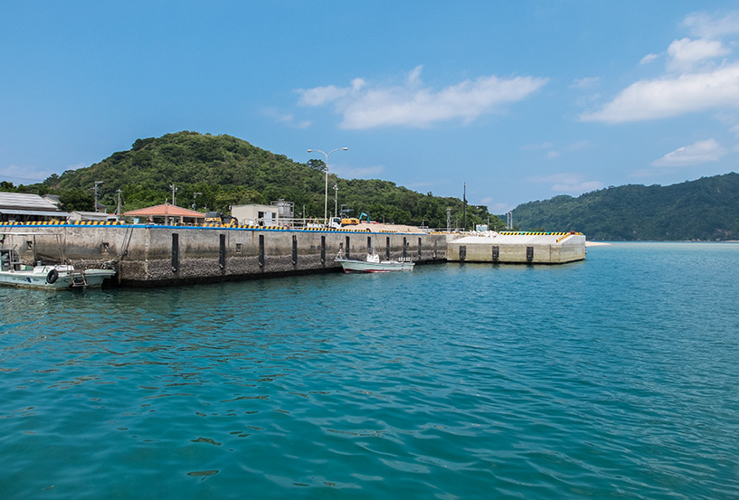 Port de Funauki, Iriomote, Okinawa