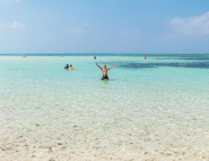 Kondoi Beach, Taketomi-jima, Okinawa, Japon