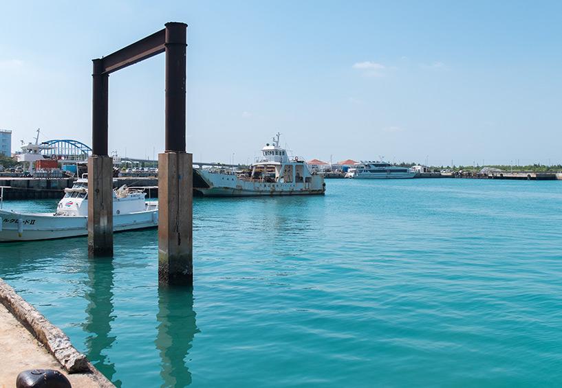 Port d'Ishigaki, Okinawa