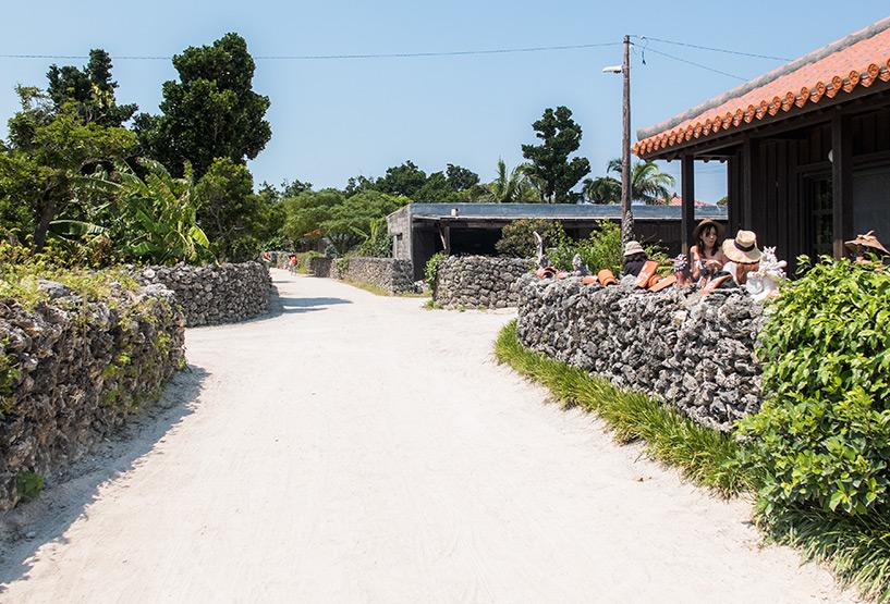 village de Taketomi-jima, Okinawa