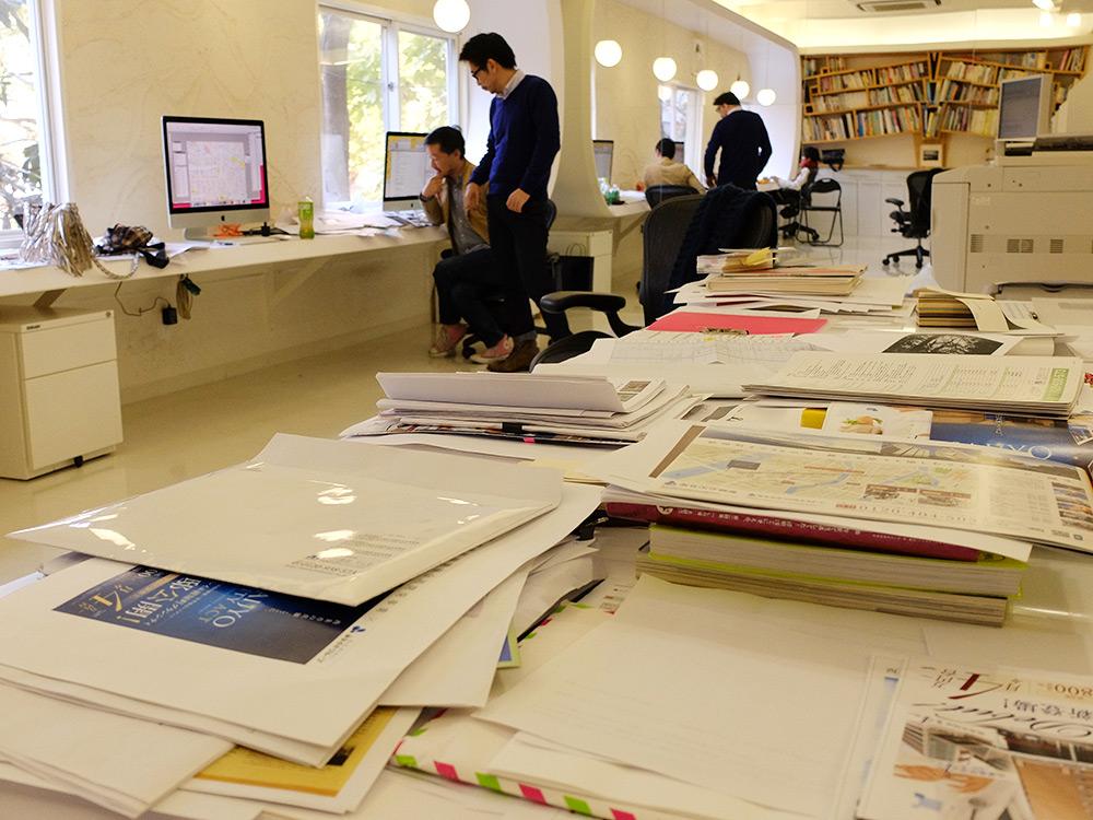 Agence de graphisme Nininbaori à Hiroshima, Japon
