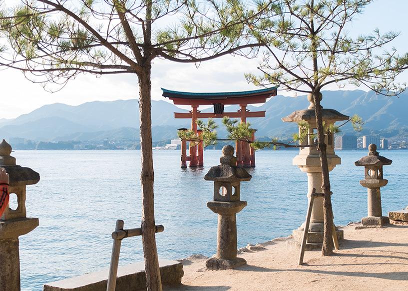 Torii de l'île de Miyajima