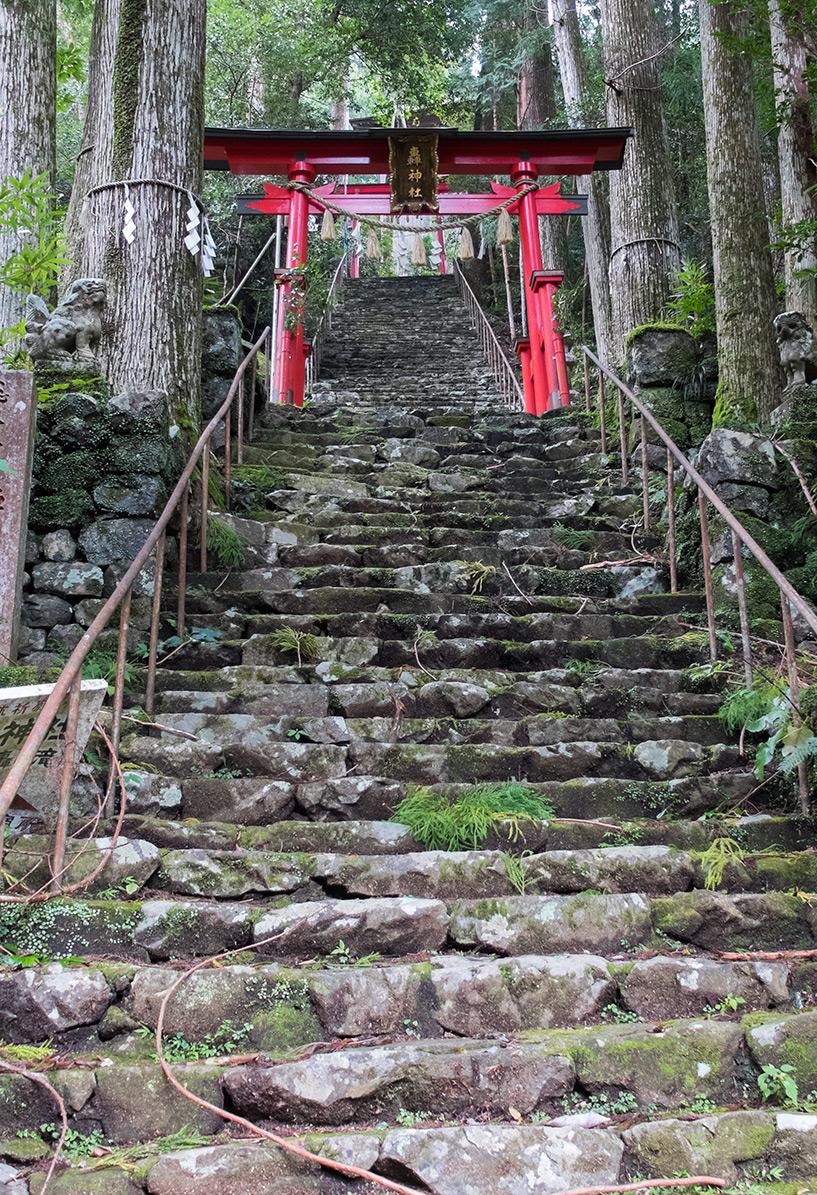 Torii du sanctuaire Todoroki, Tokushima