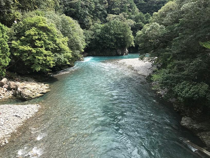 Rivières émeraude, Tokushima
