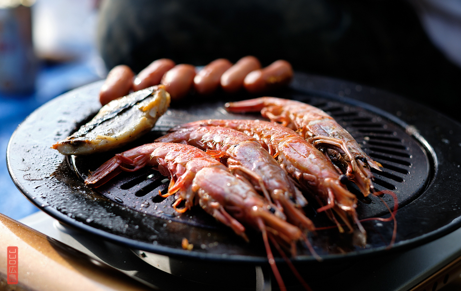 AVril 2020, Hiroshima, hanami, barbecue, crevettes