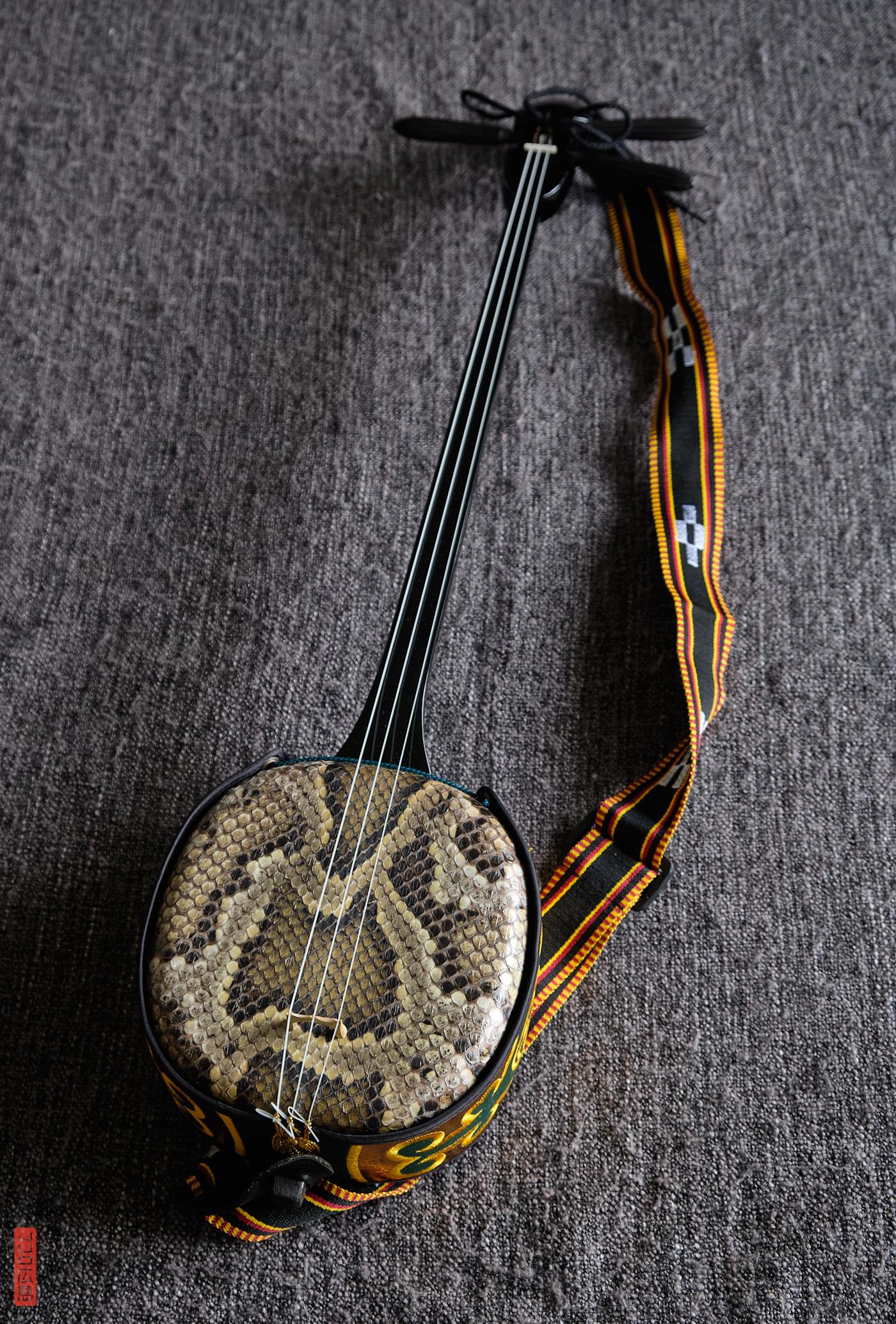Sanshin, instrument d'Okinawa à 3 cordes