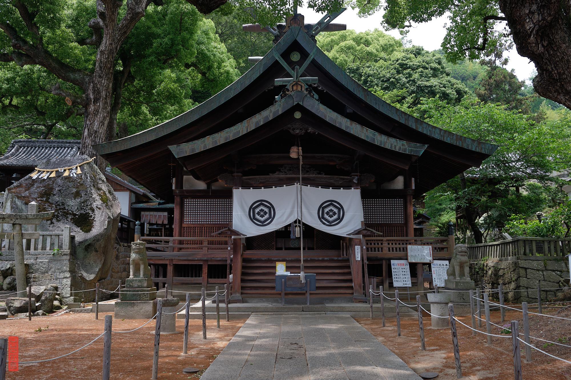 Santuraire Ushitora / Onomichi