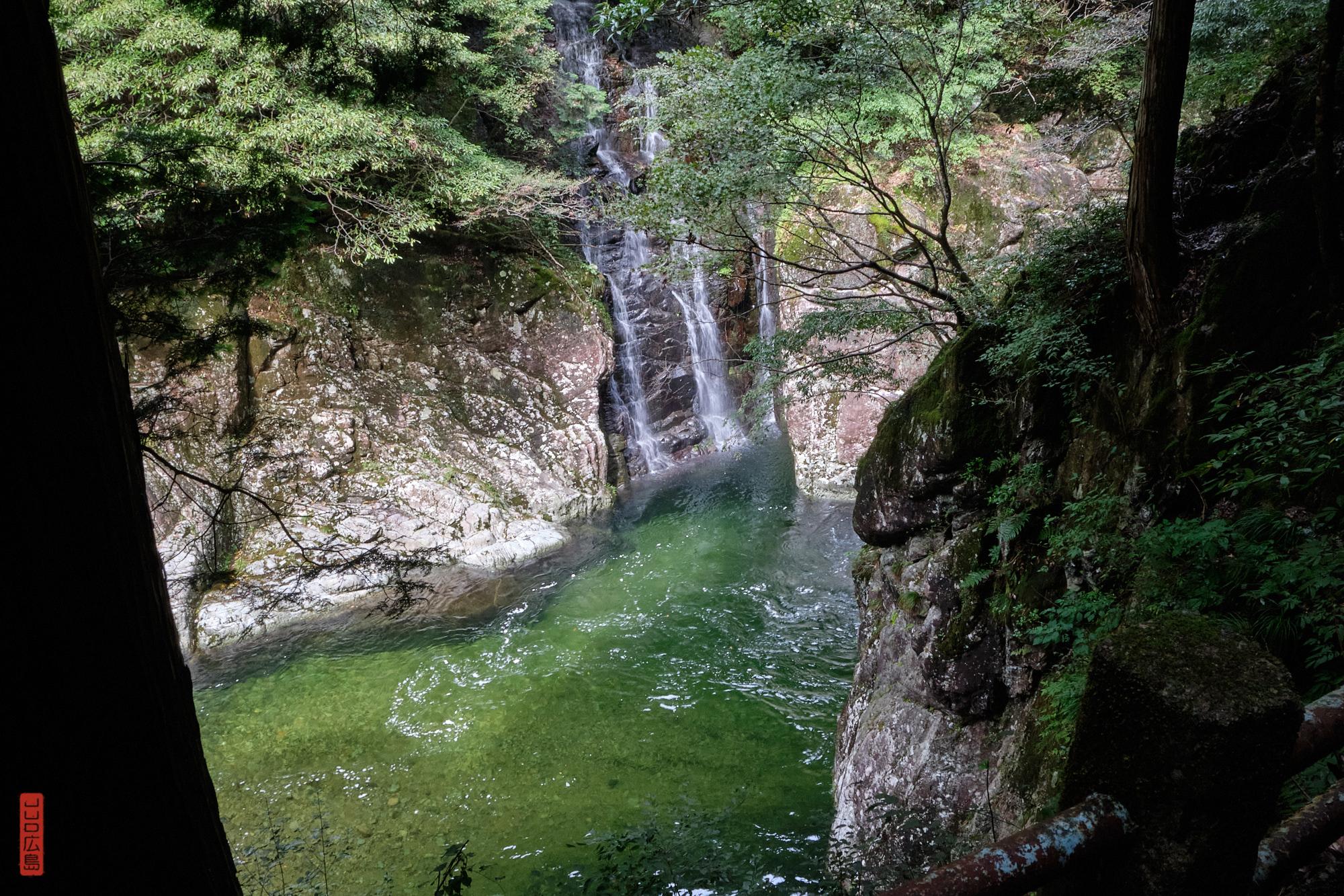 Gorges de Sandankyo, cascade Shimaidaki