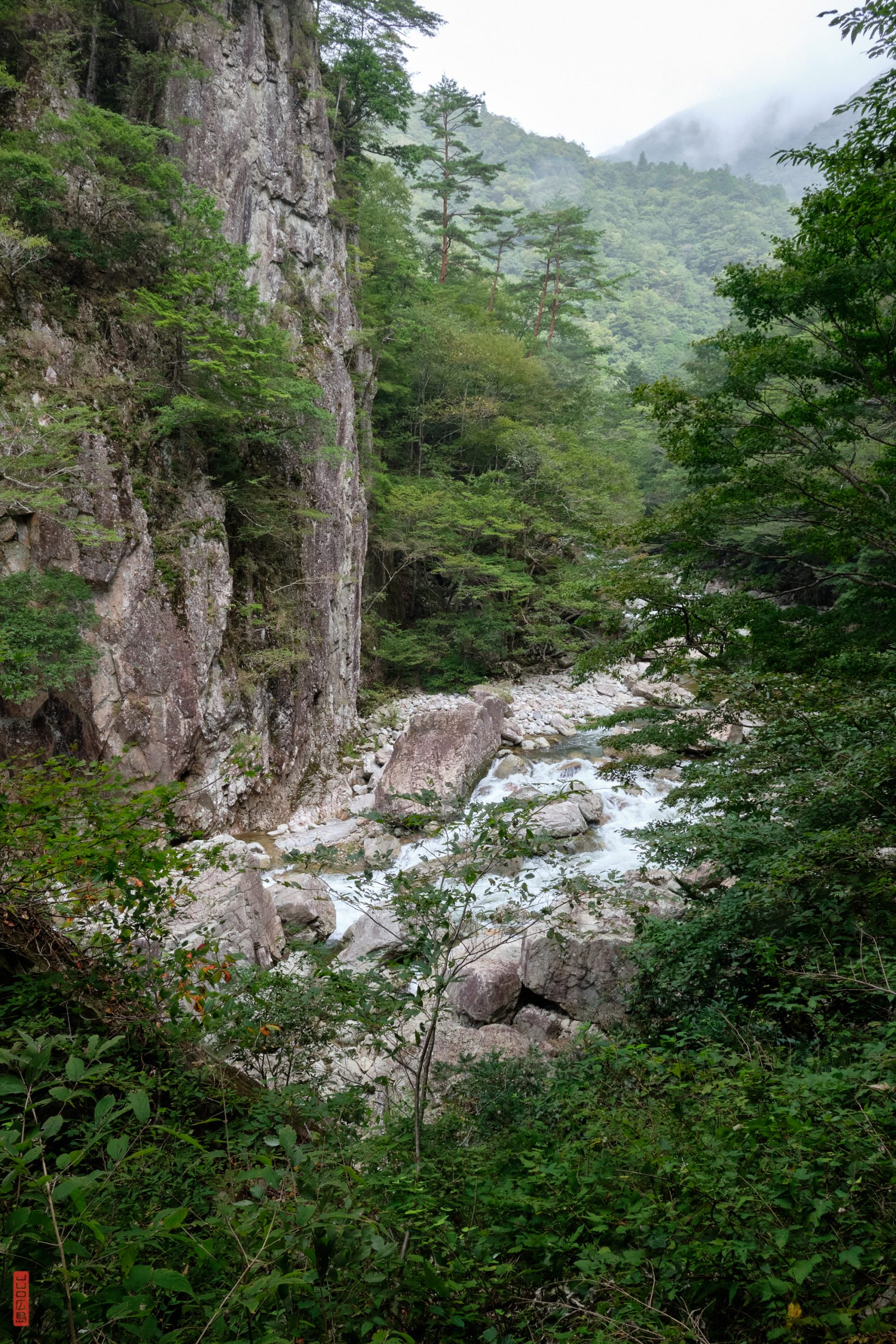Randonnée au Japon, Sandankyo, Ishidoi