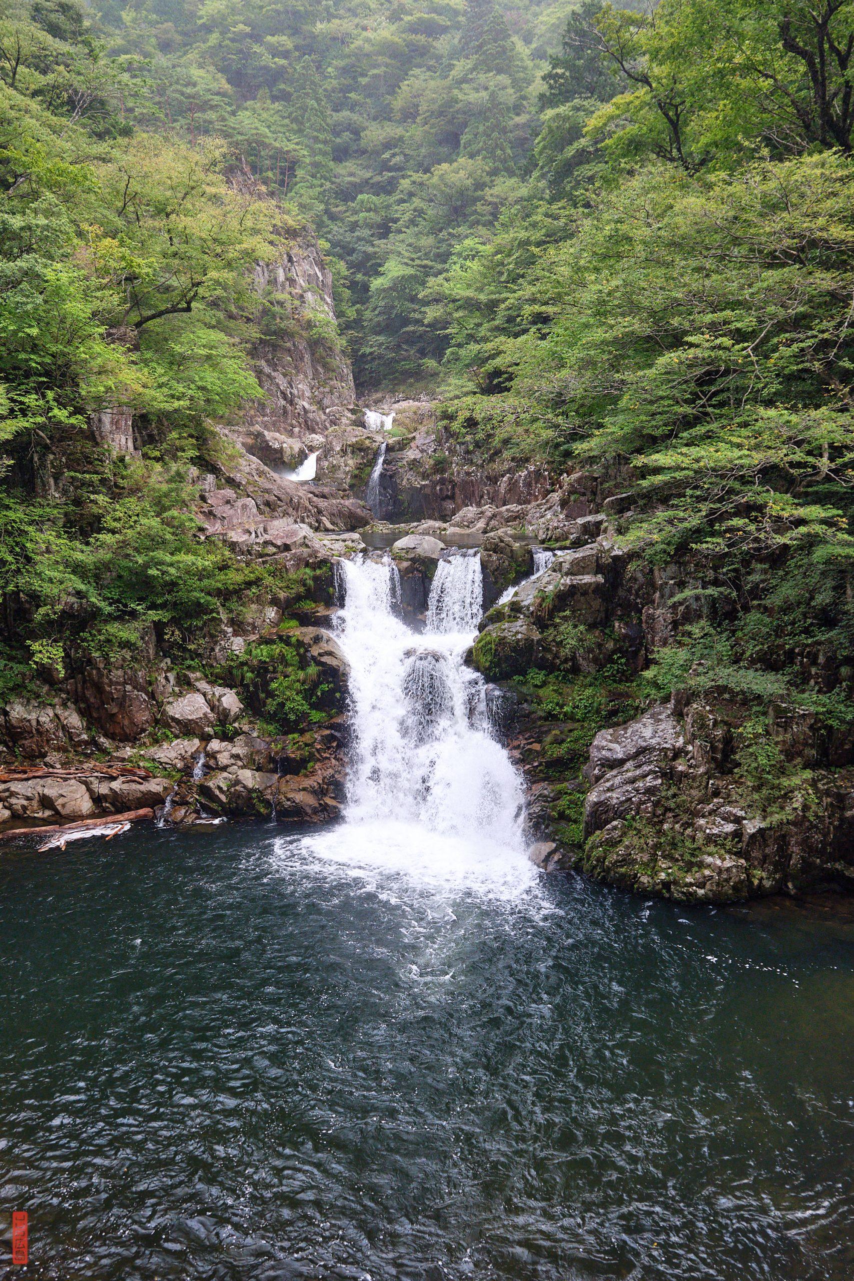 Sandankyo, cascade Sandandaki