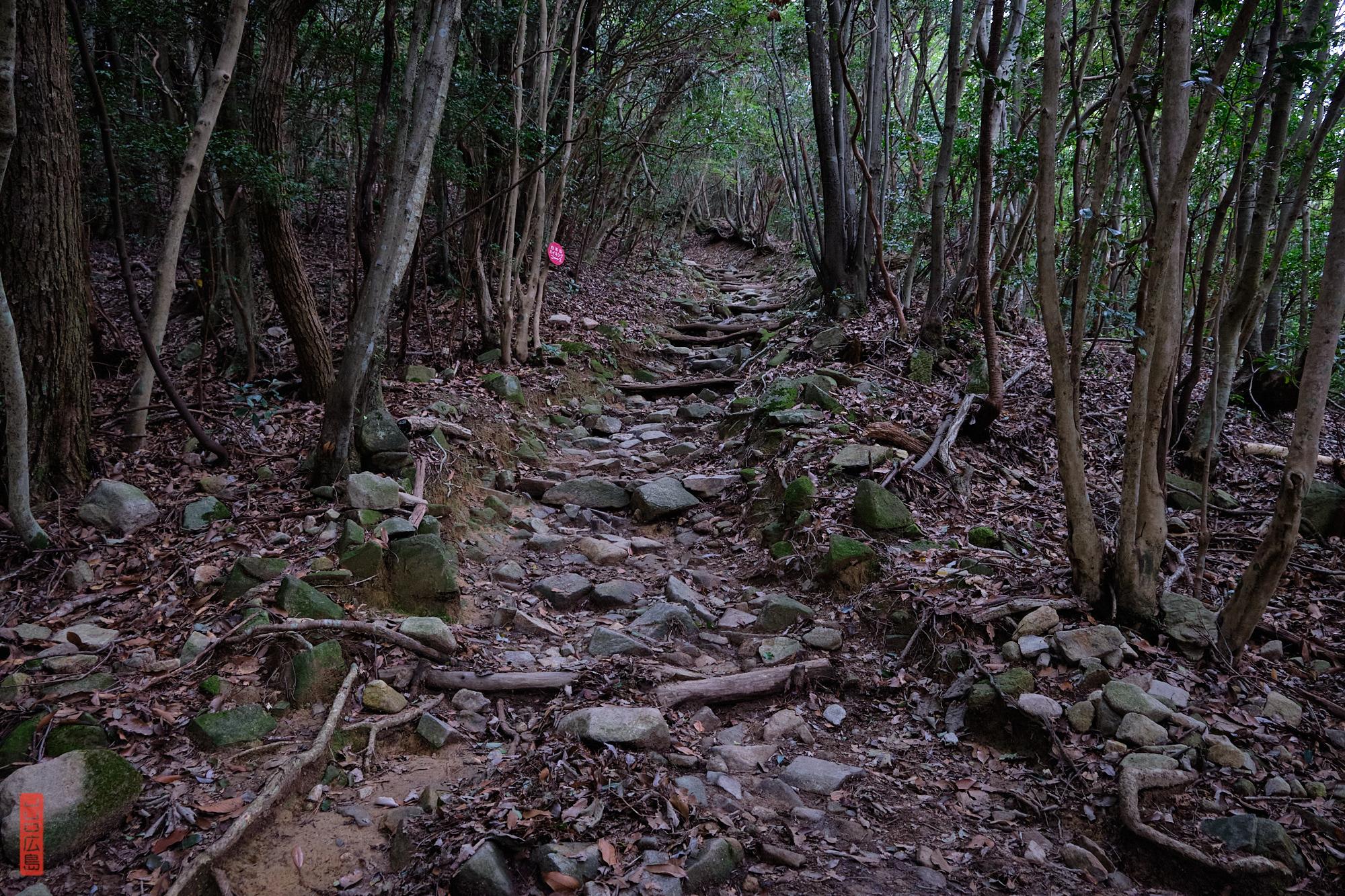 Chemin de randonnée, Mont Shirakiyama