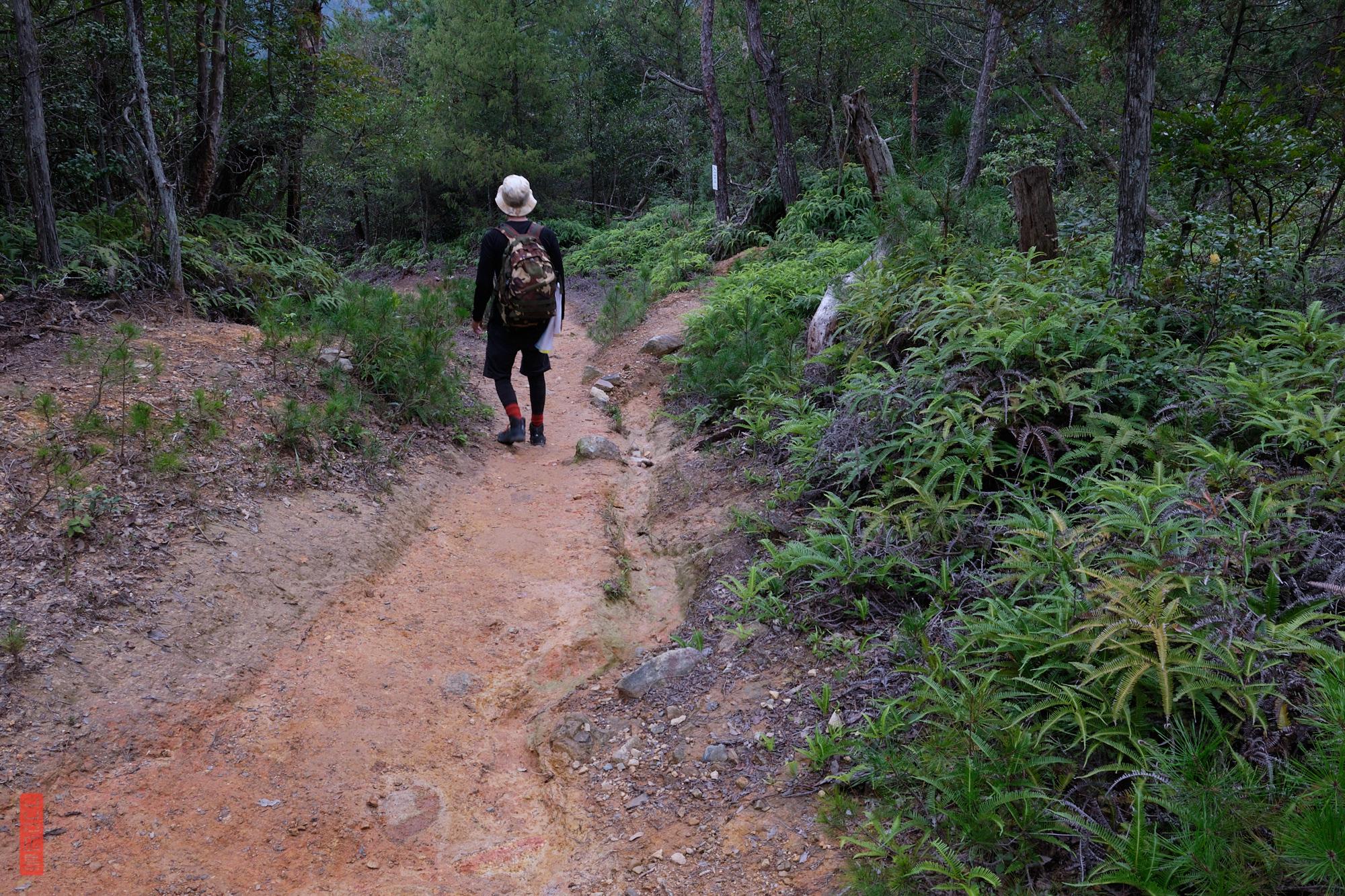 chemin de randonnée japon, Mont Shirakiyama