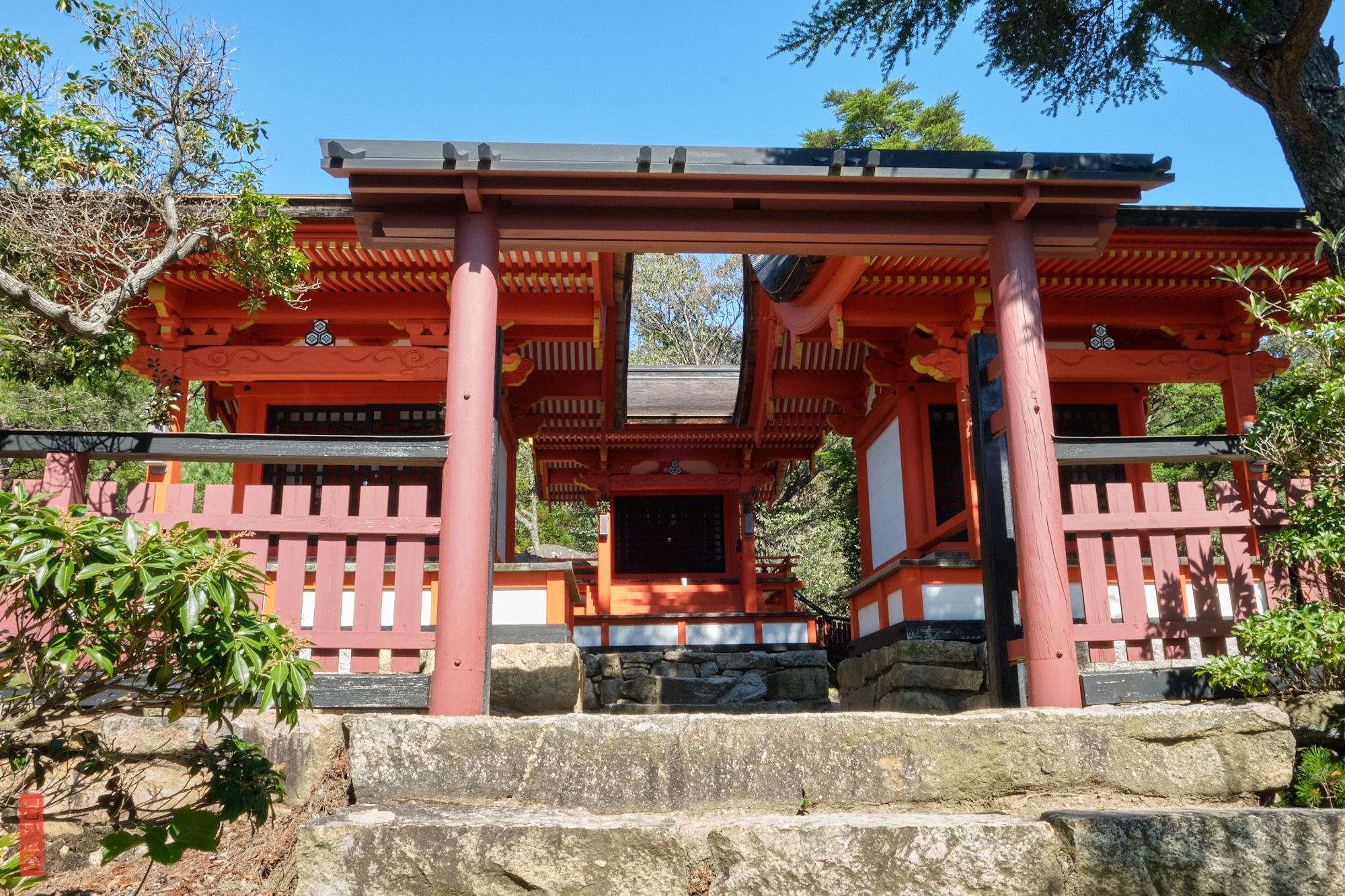 Sanctuaire Miyama (御山神社), Mont Misen