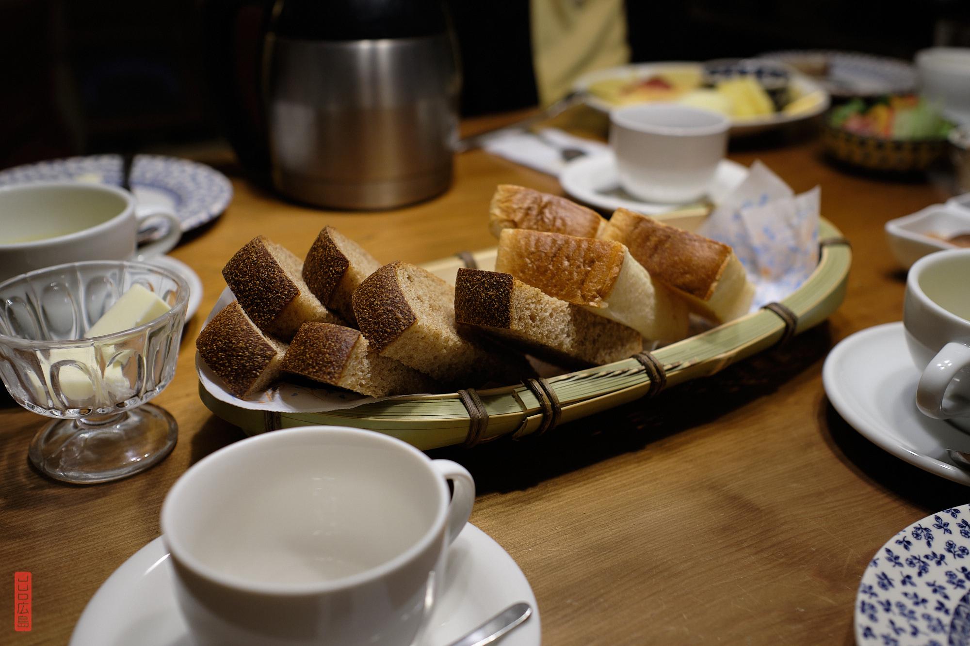 Les petits déjeuners de la pension Dandan, Daisen, Tottori