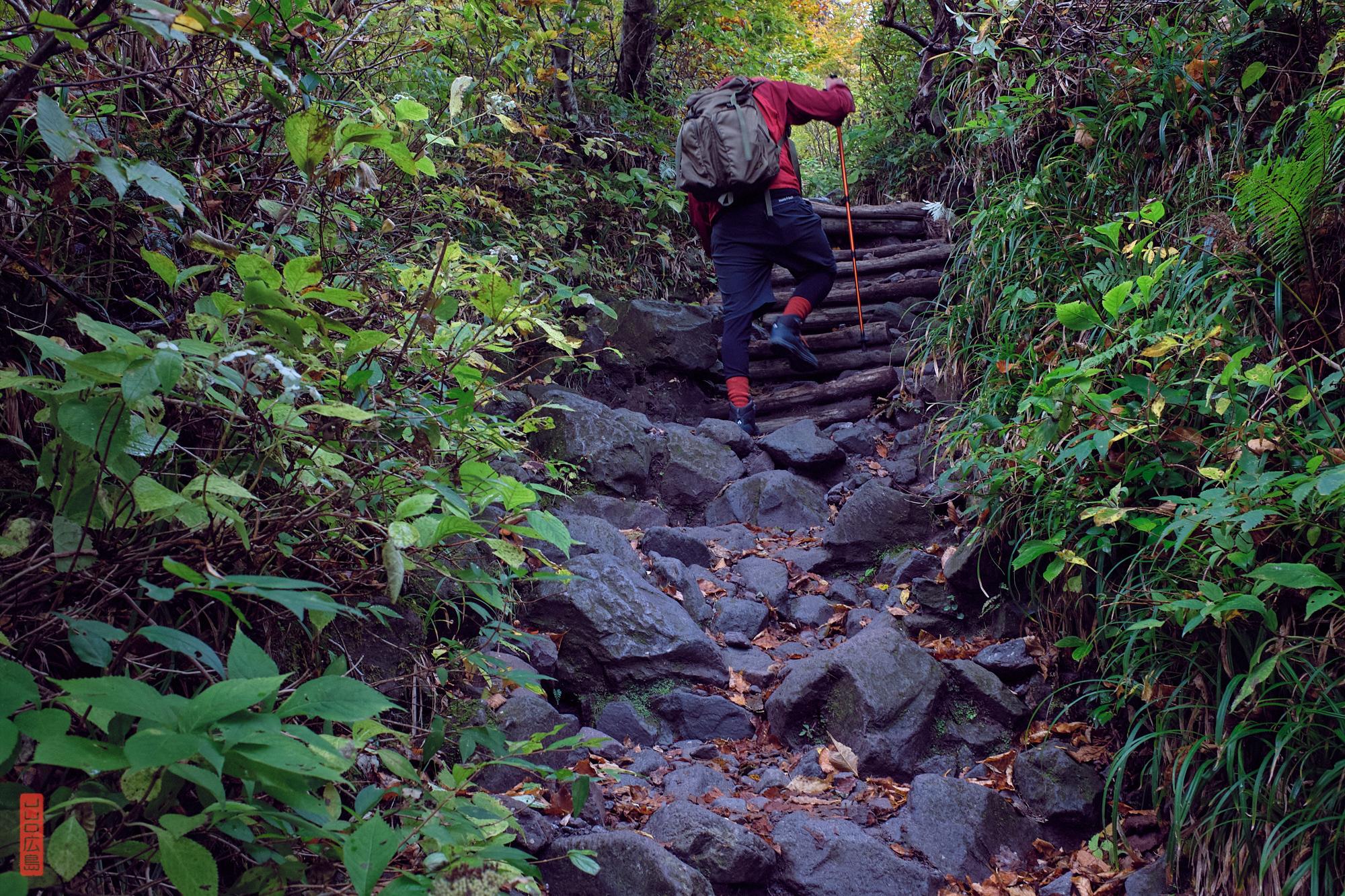 Trekking au Japon, le Mont Daisen
