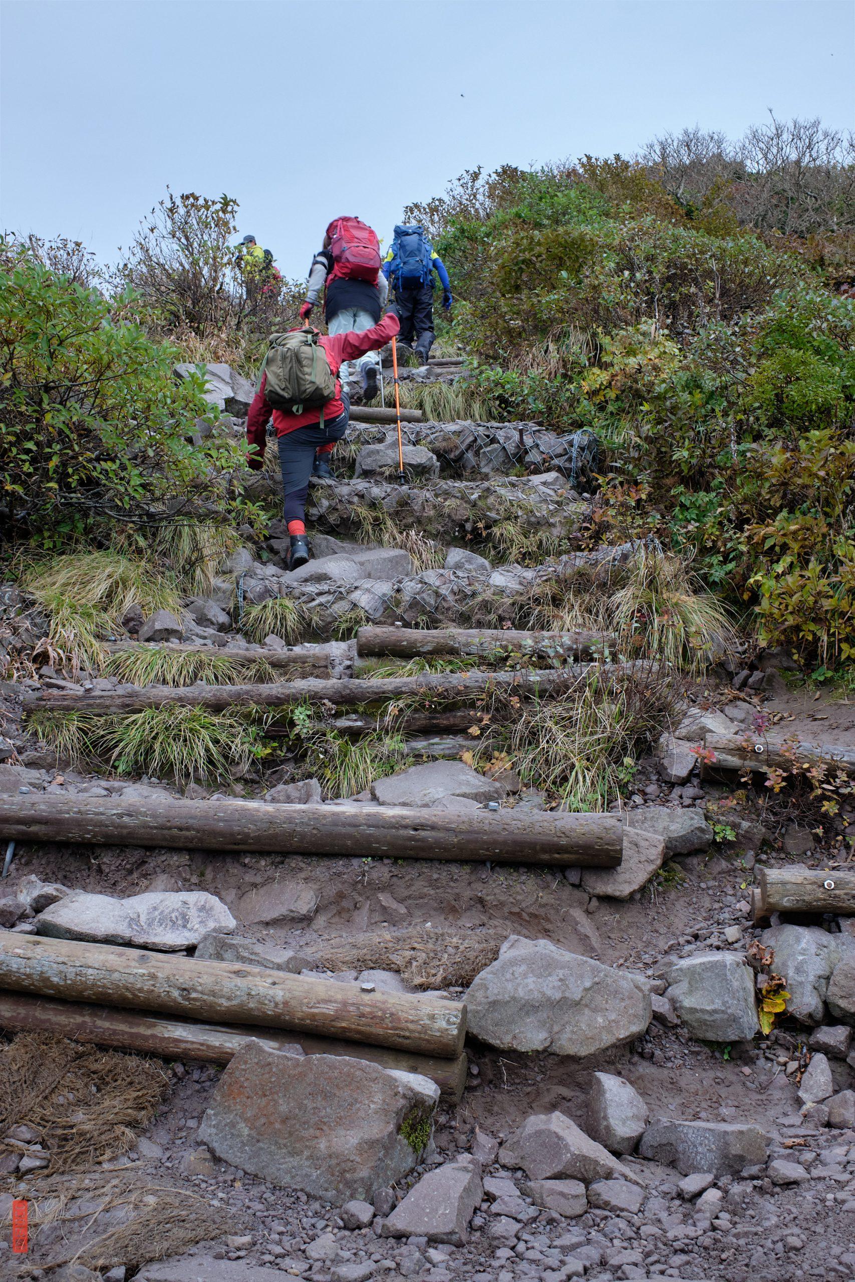 randonnée sur le Mont Daisen, Tottori, Japon