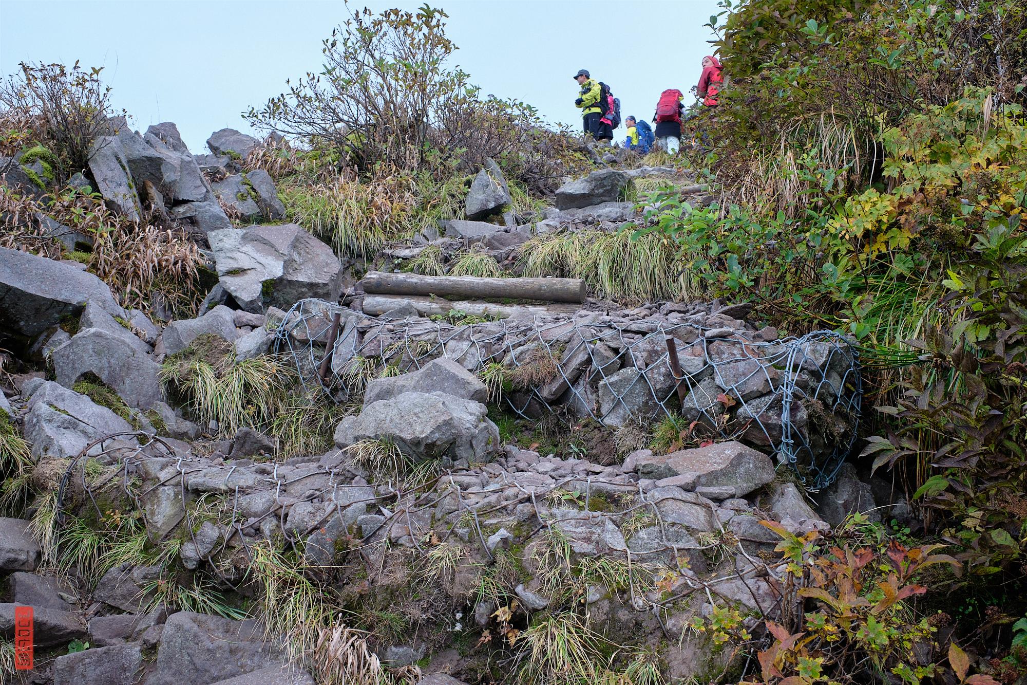 randonnée sur le Mont Daisen