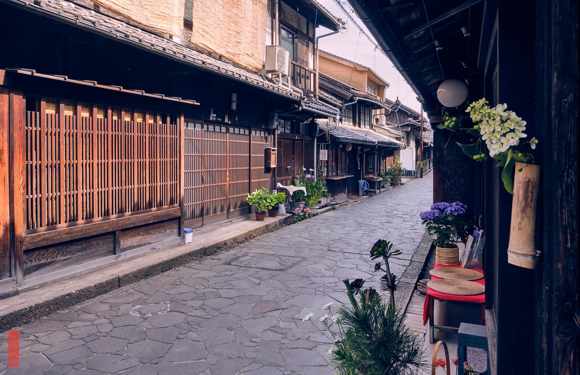 Ruelle historique du centre de Tomo-no-Ura