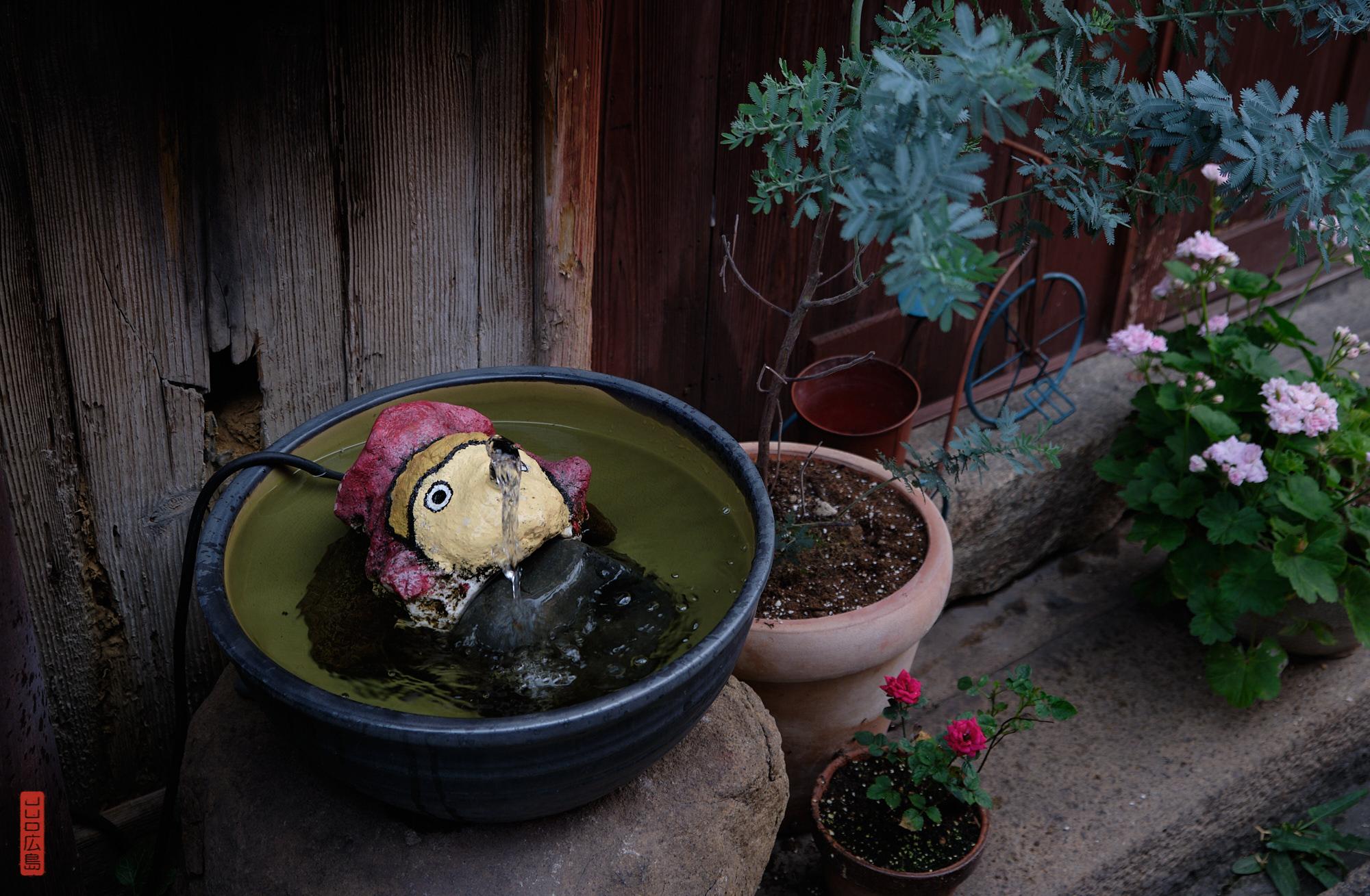 Fontaine Ponyo à Tomo-no-Ura