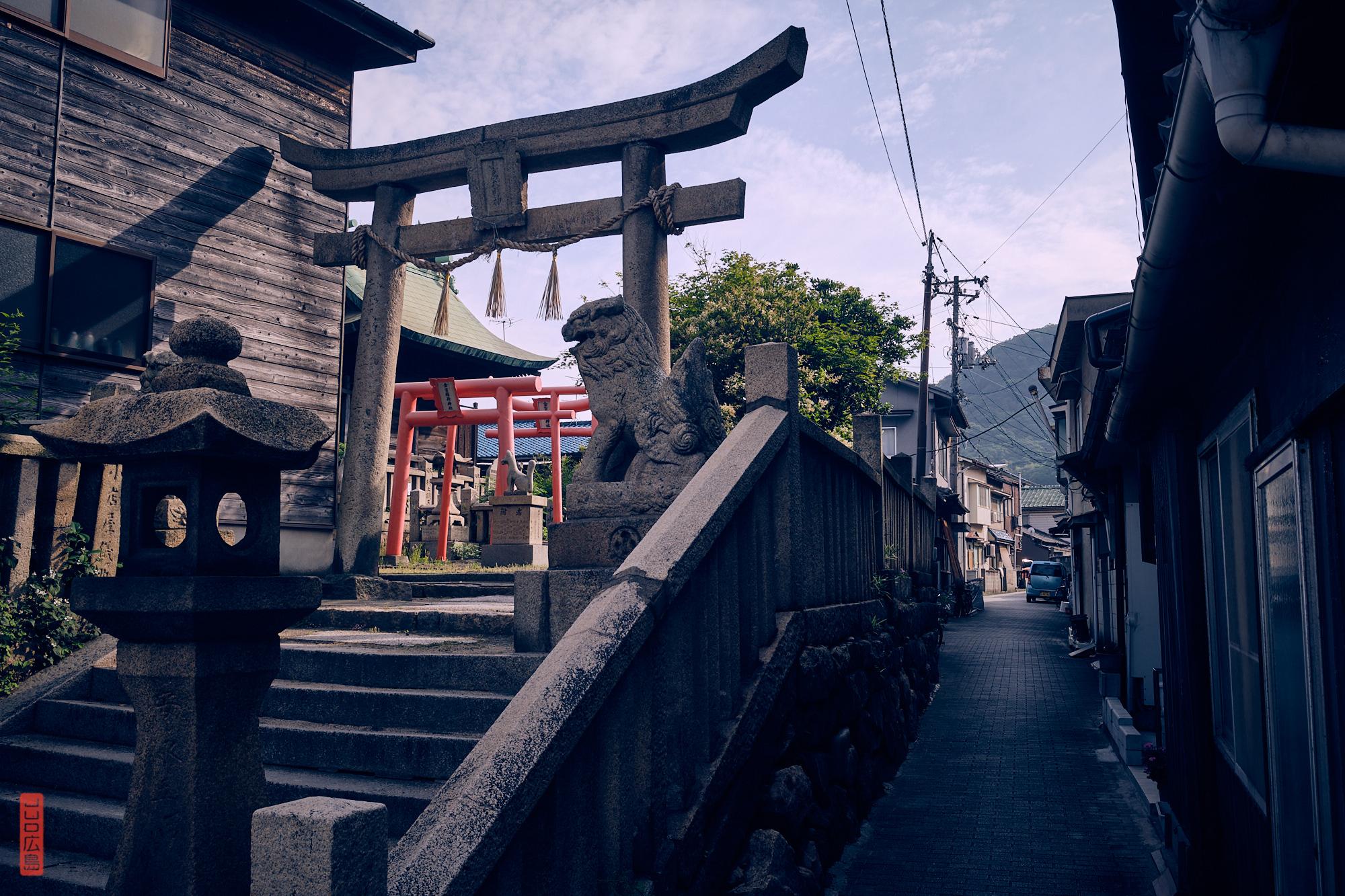 Sanctuaire shinto à Tomo-no-Ura