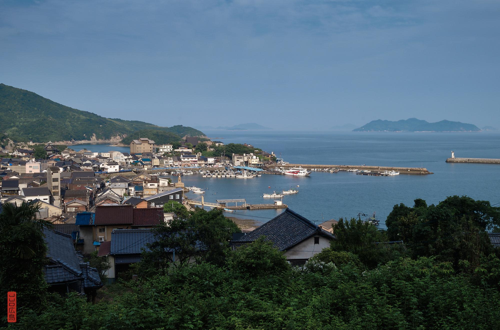 Vue sur la baie de Tomo-no-Ura