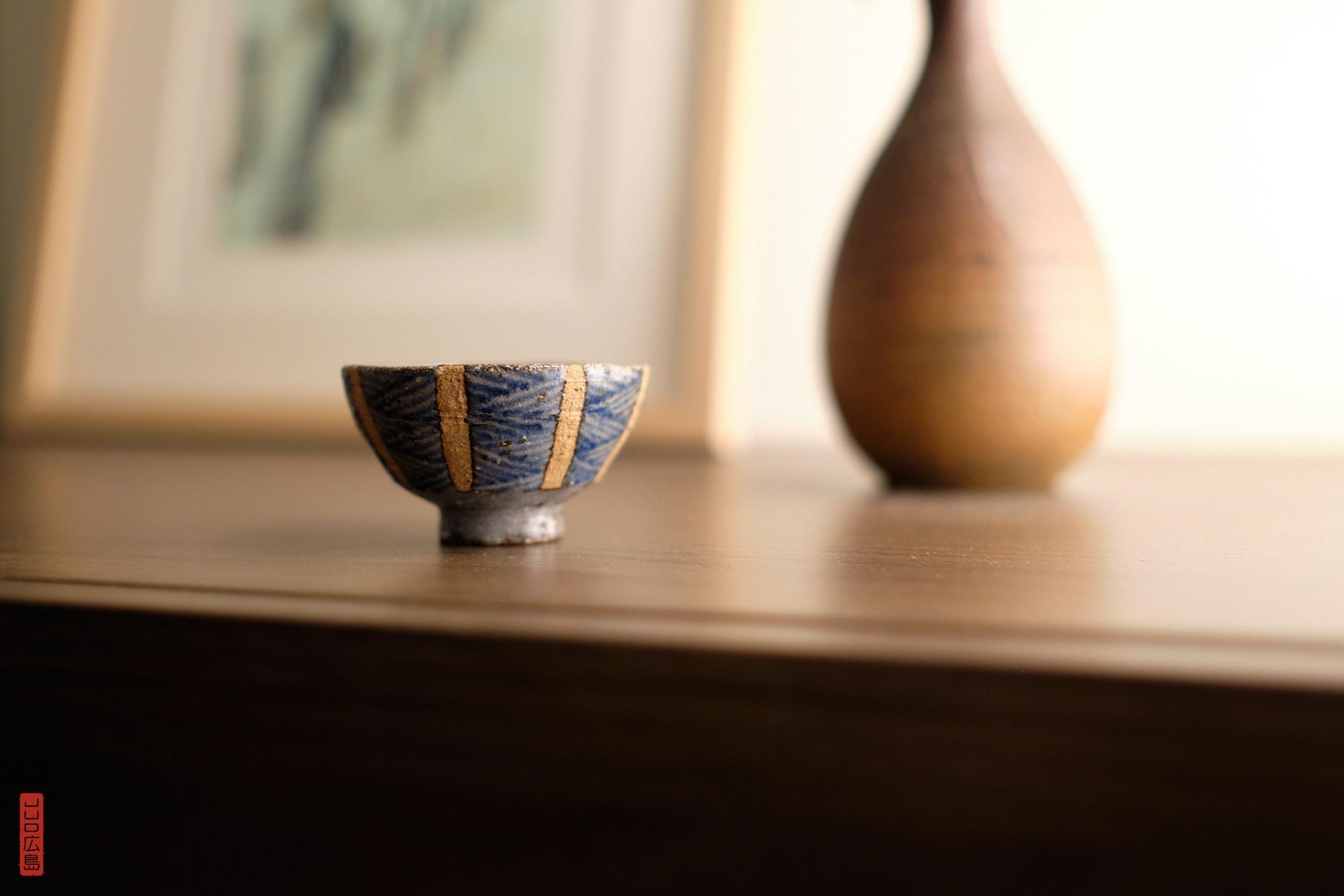 Coupelle à saké de Tomo-no-Ura, poterie