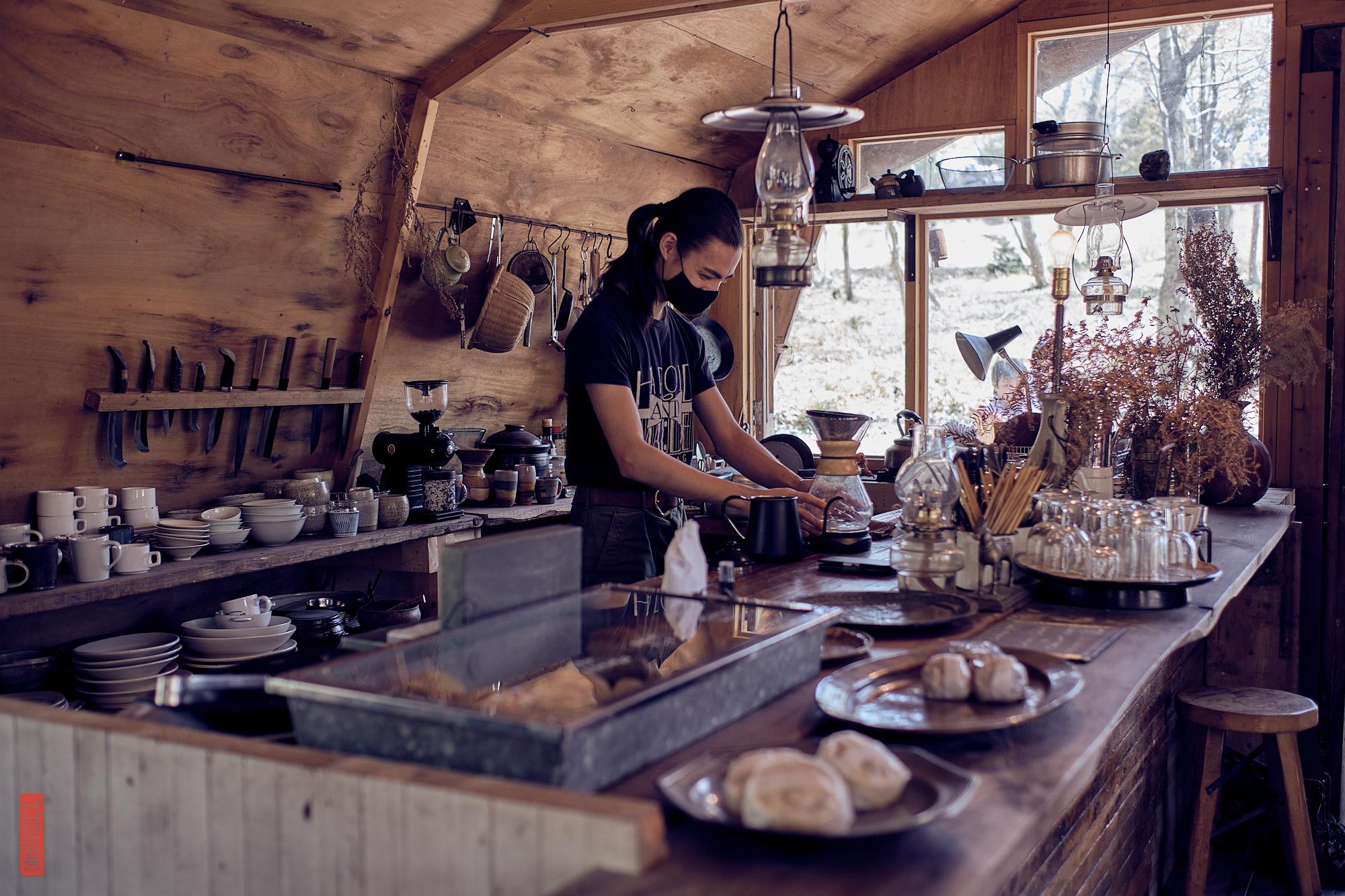 Anan Coffee, un café dans la forêt, Japon