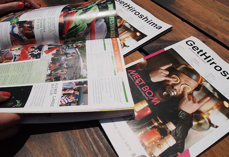 GetHiroshima mag spring issue