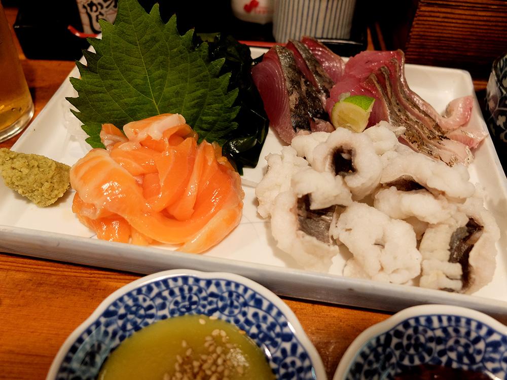 sashimis à Rojiura