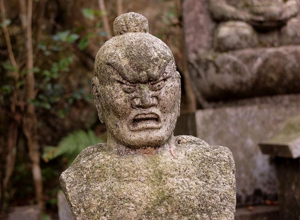 Statue Nyo à Mitaki