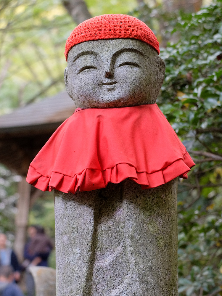 Statue de Jizo à Mitaki