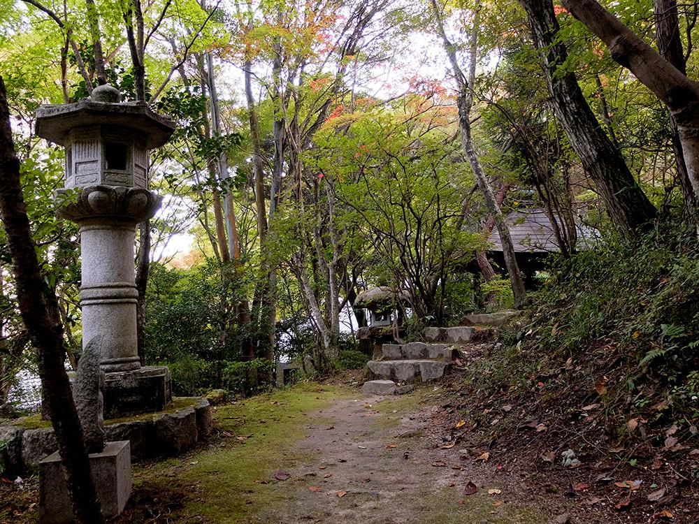 Chemin à Mitaki