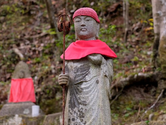 Statue Jizo à Mitaki