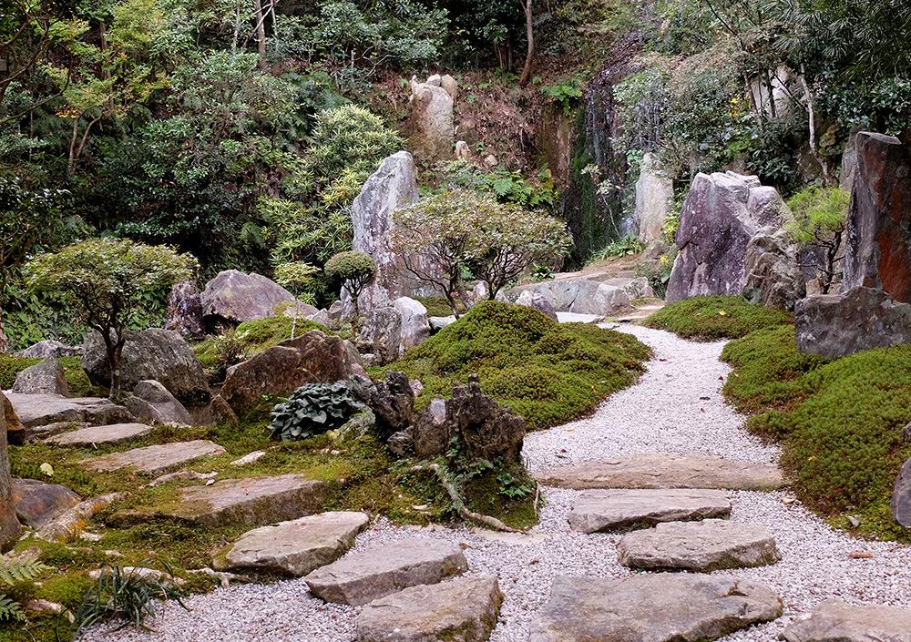 Jardin japonais à Mitaki