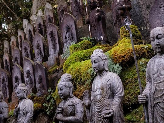 Statues à Mitaki