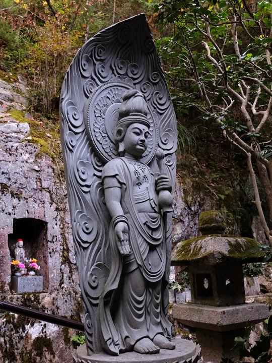 Statue bouddhiste à Mitaki