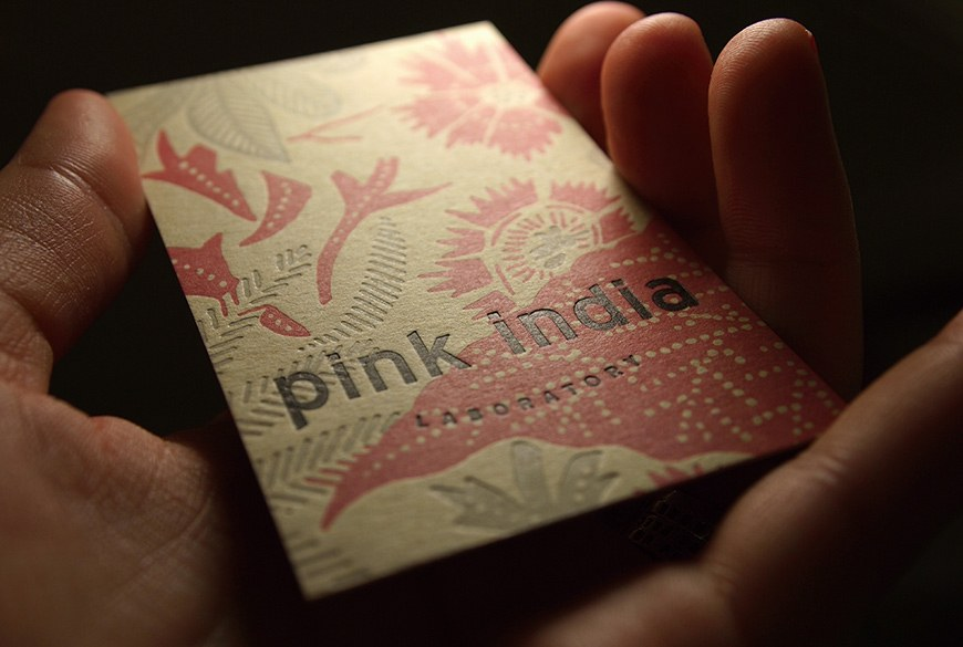 Identité visuelle Pink India